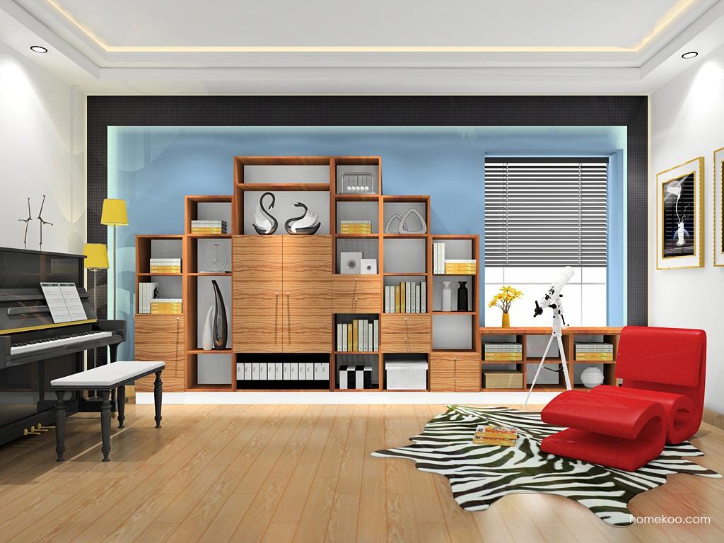 新实用主义书房家具C18760