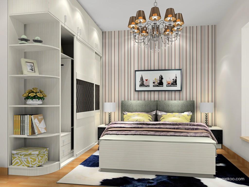 米兰剪影卧房家具A18577