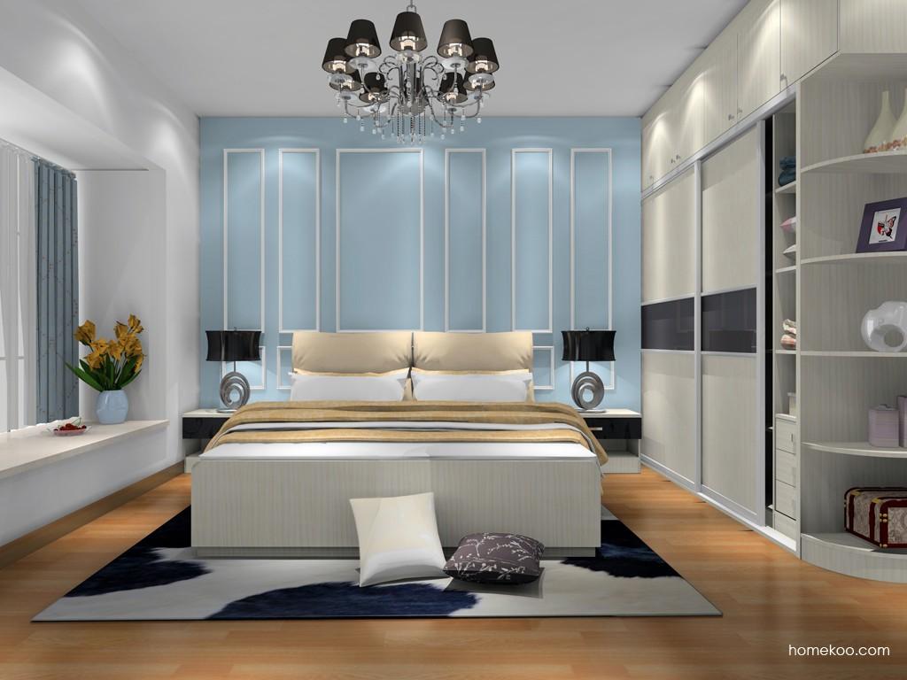 米兰剪影卧房家具A18588