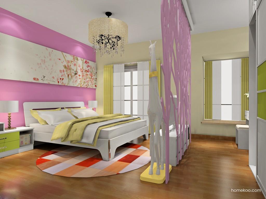 里昂春天卧房家具A18596