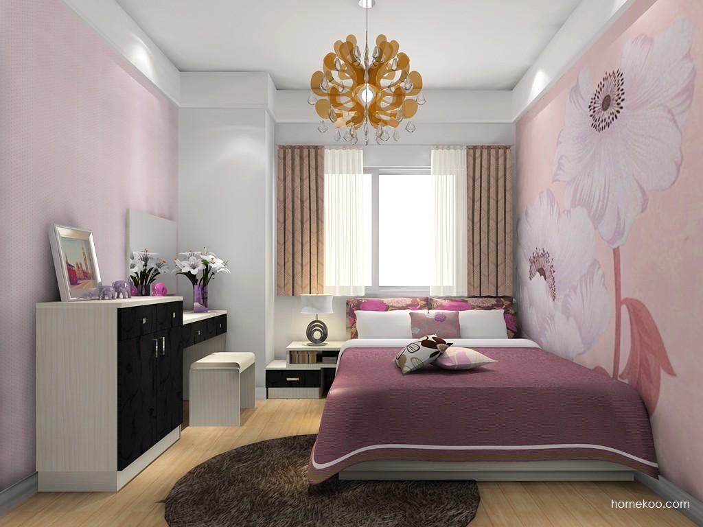 米兰剪影卧房家具A18600