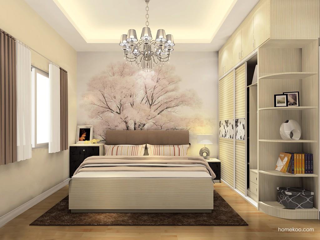 米兰剪影卧房家具A18602