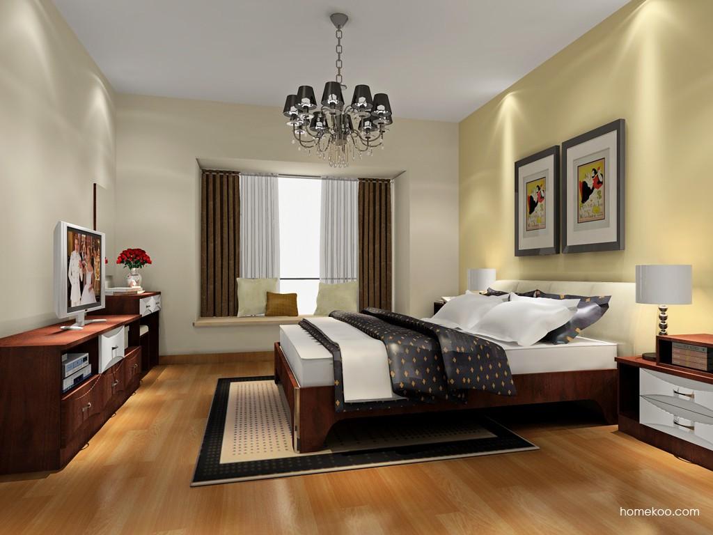 挪威月色卧房家具A18605