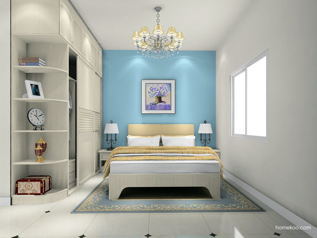 英伦印象卧房家具A18587