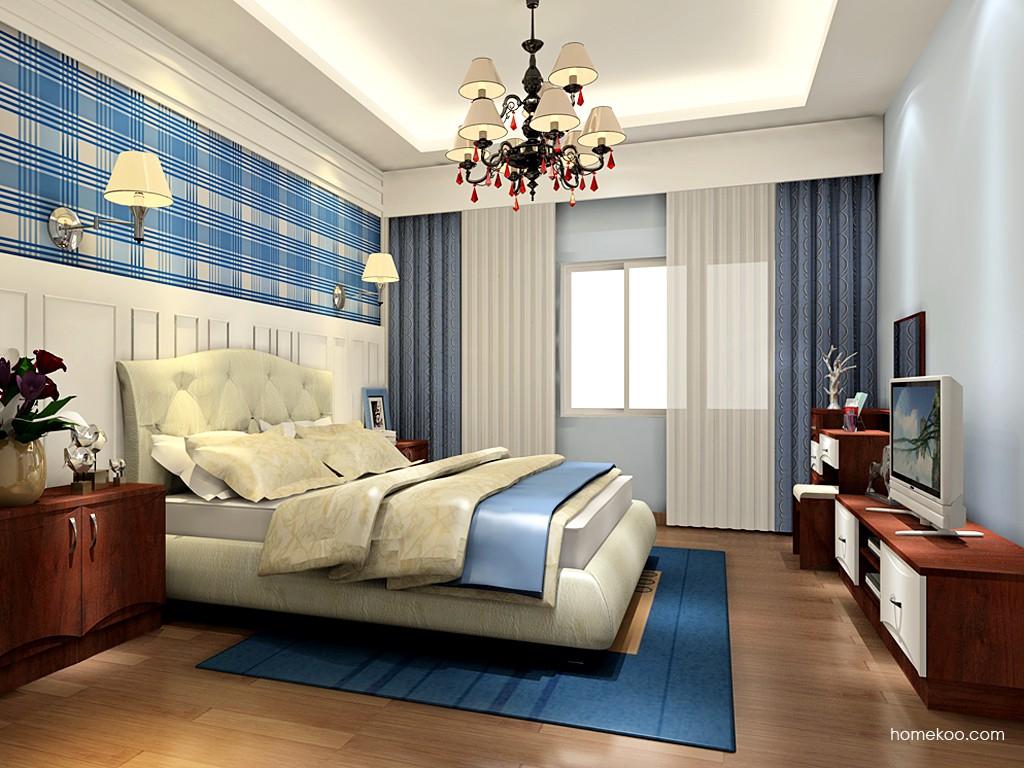 挪威月色卧房家具A18612