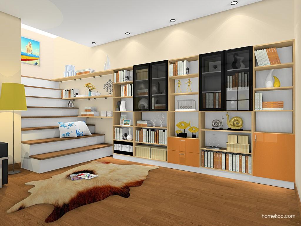 新实用主义书房家具C18789