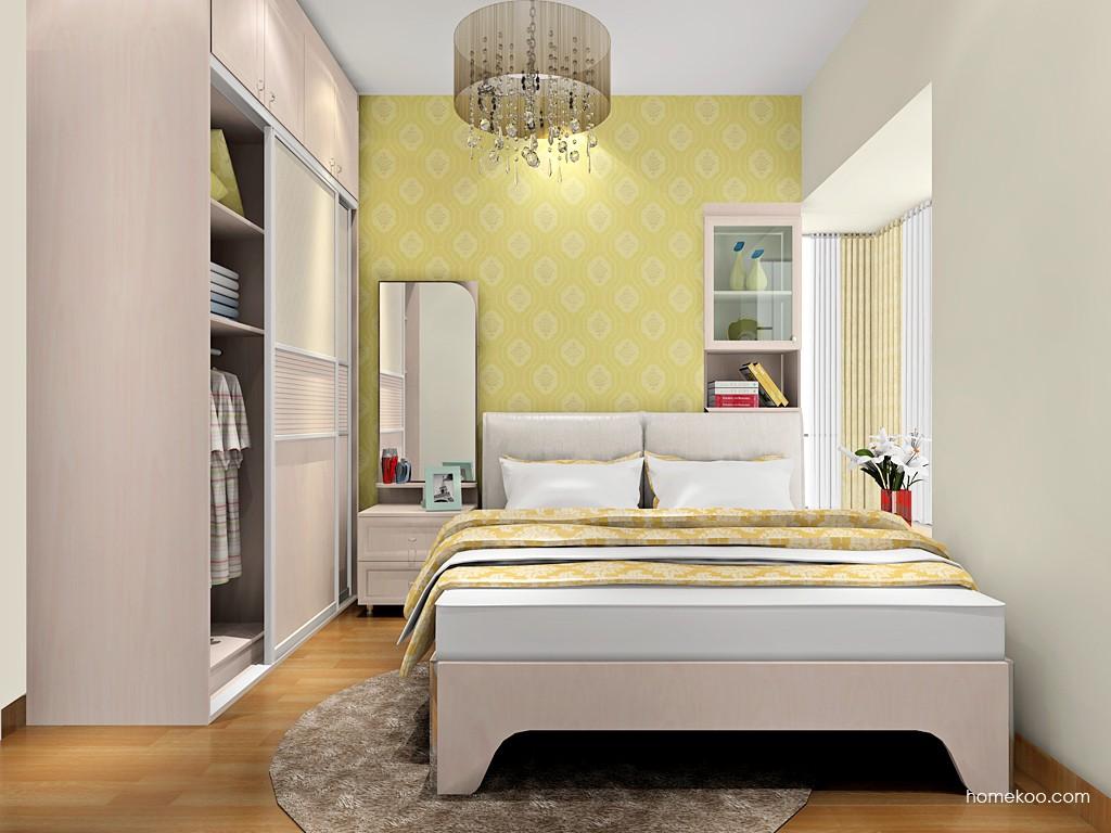 北欧阳光卧房家具A18622