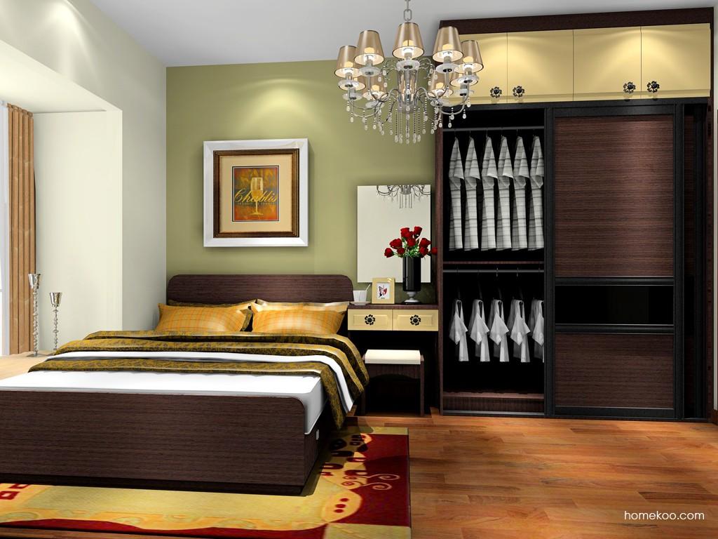 卡罗摩卡卧房家具A18627