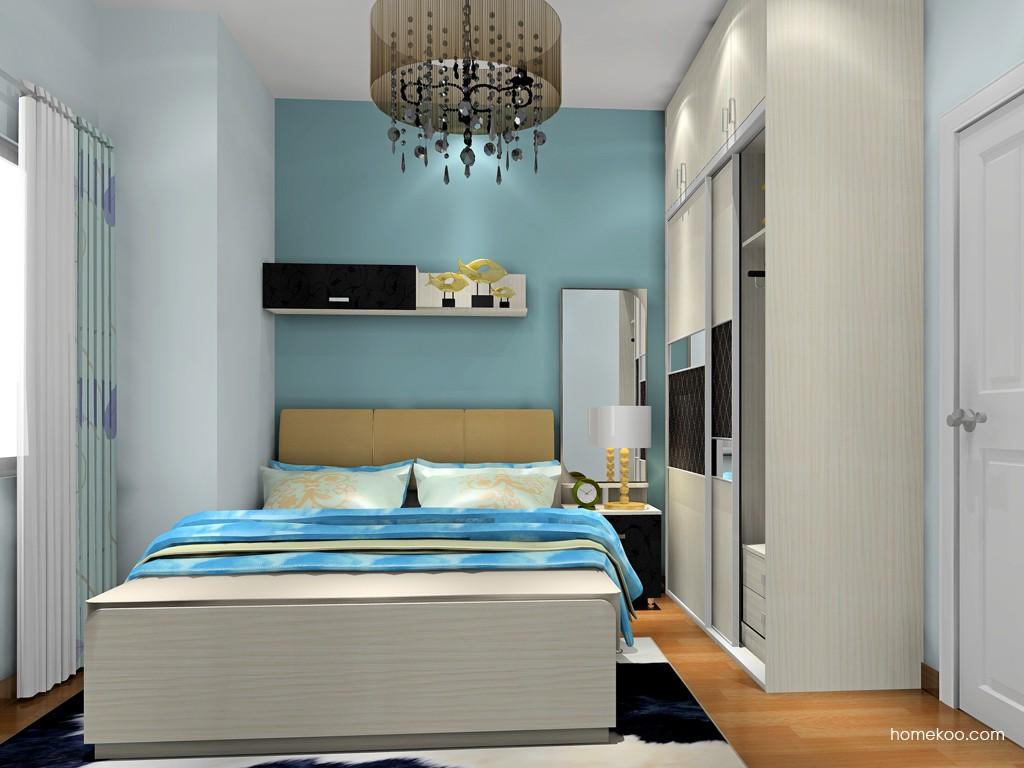 米兰剪影卧房家具A18637
