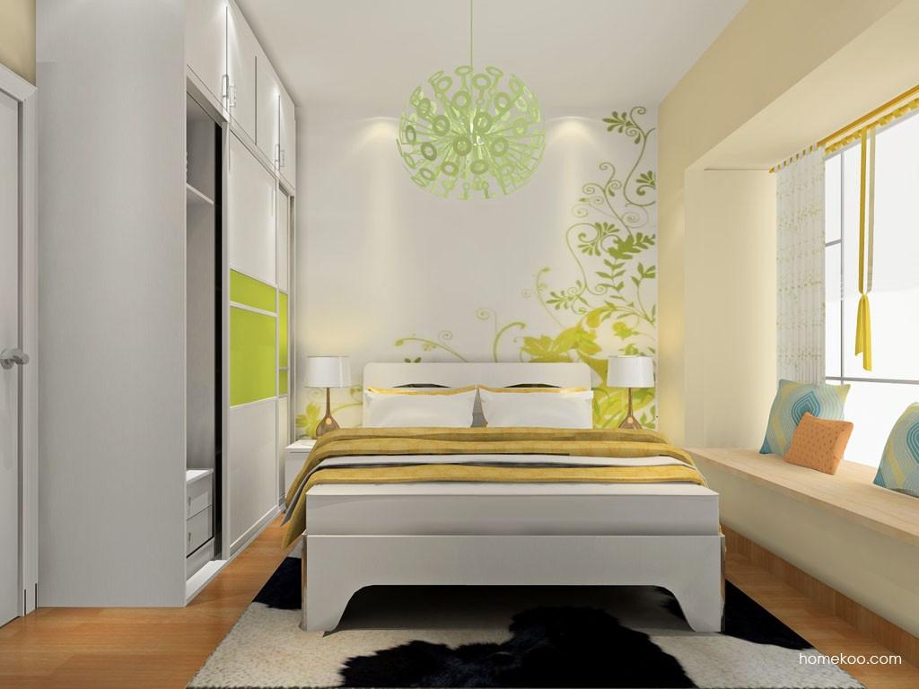 里昂春天卧房家具A18639