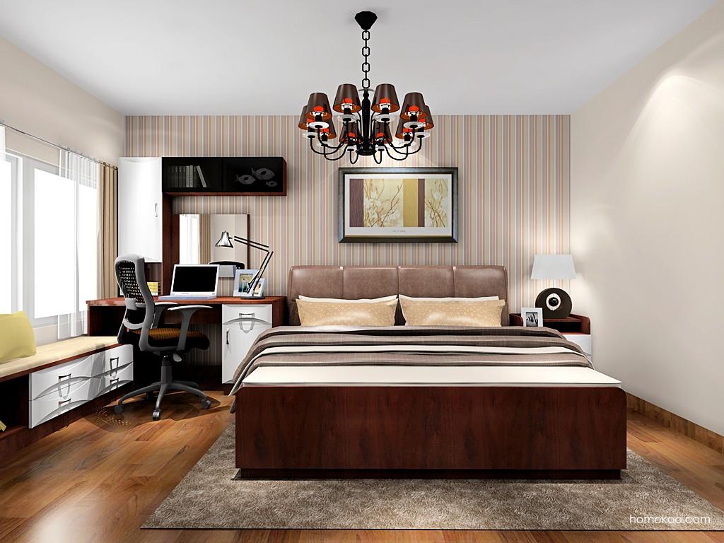 挪威月色卧房家具A18643