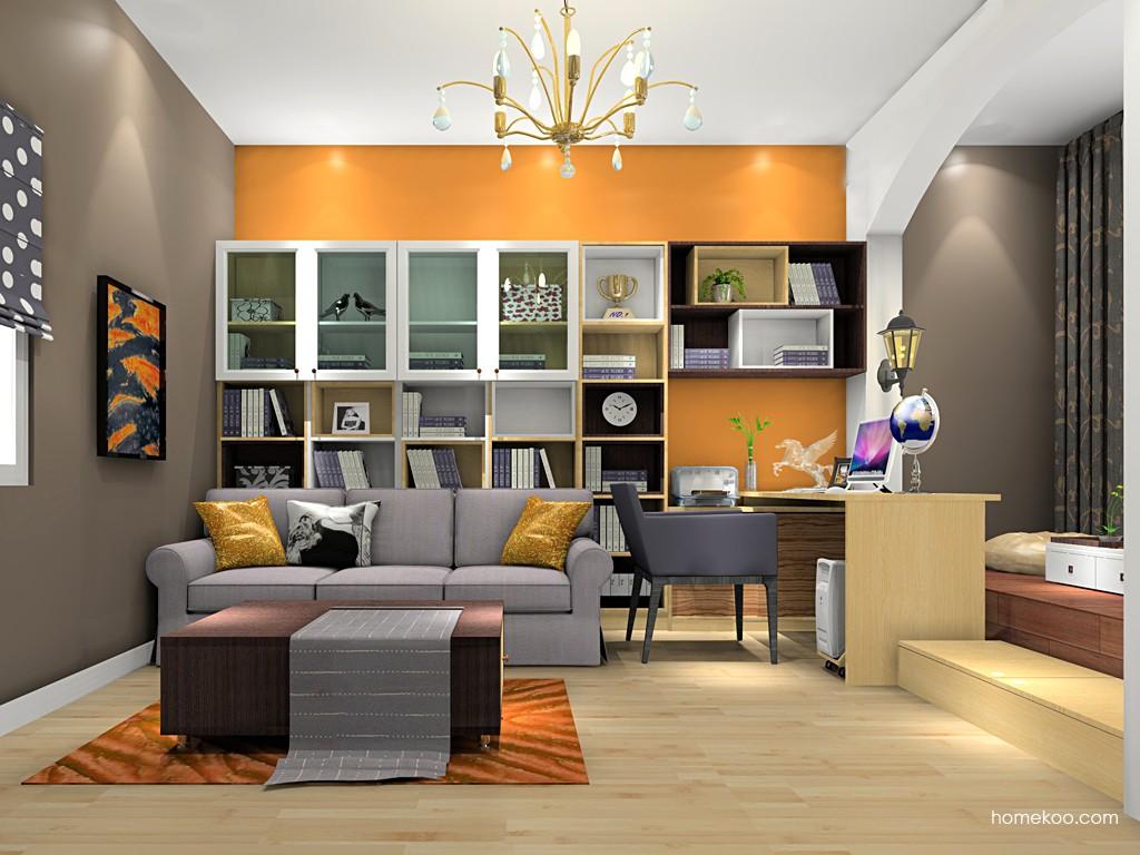 新实用主义书房家具C18799