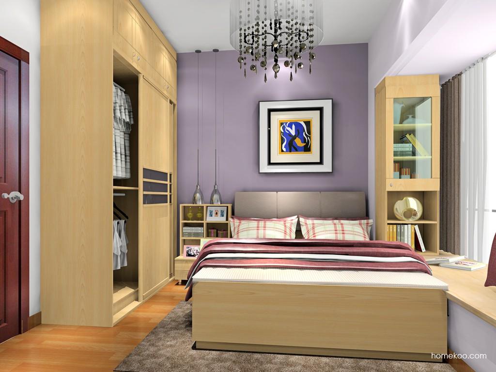 北美枫情卧房家具A18651