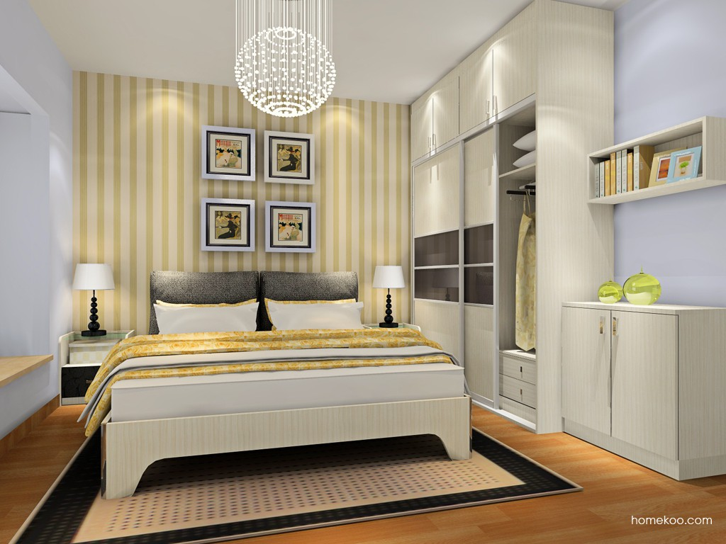 米兰剪影卧房家具A18654
