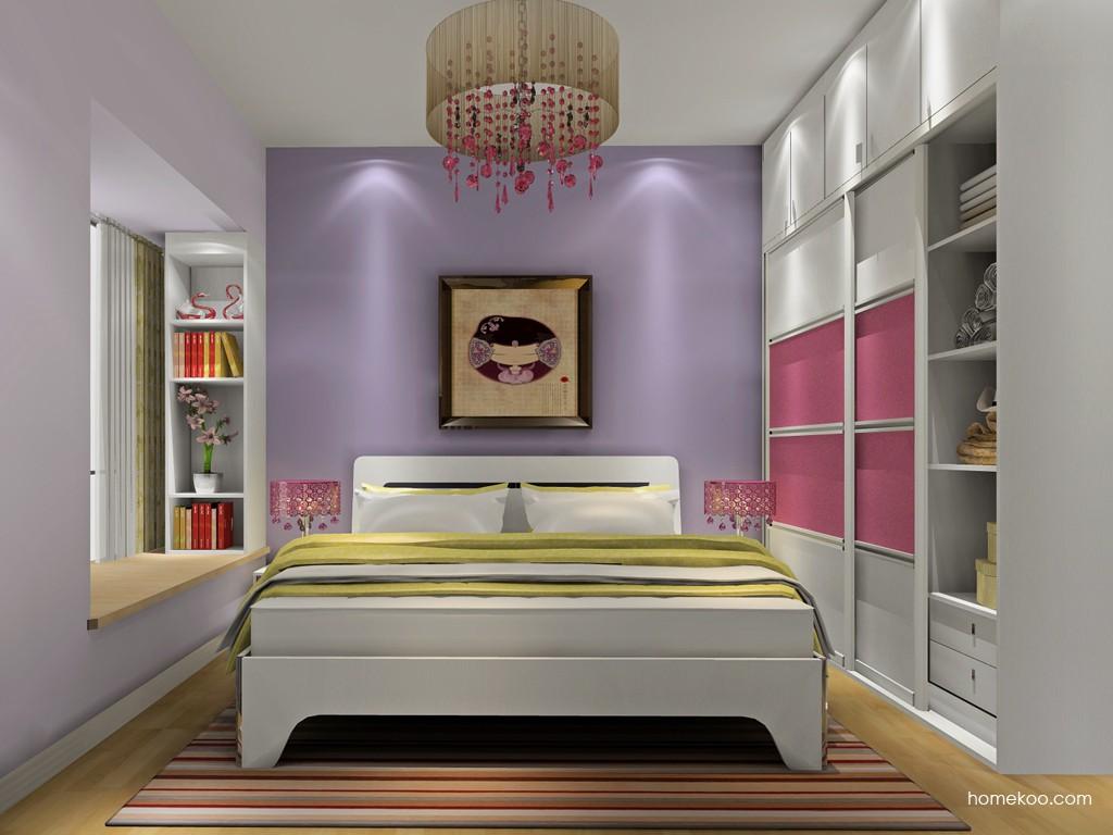 浪漫主义卧房家具A18669