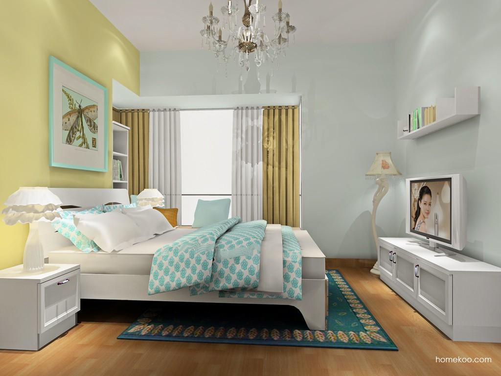 韩式田园卧房家具A18670