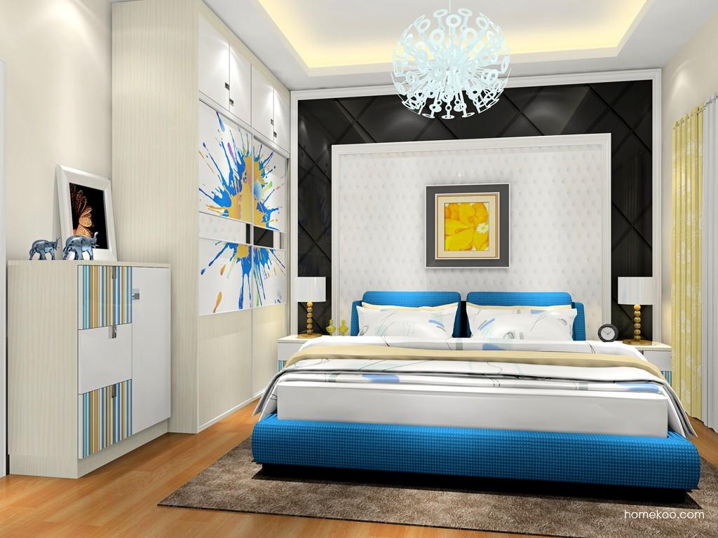 首尔之缤卧房家具A18684