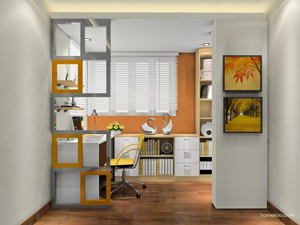 新实用主义书房家具C18837