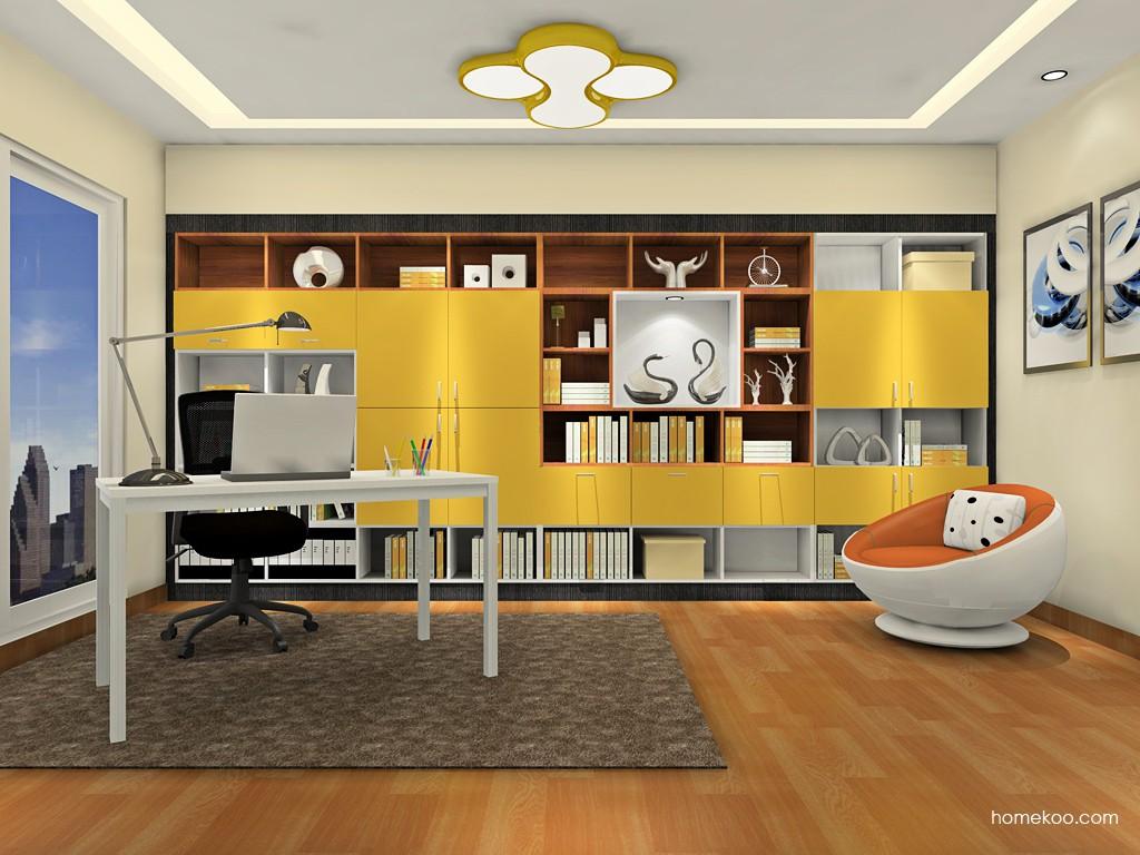新实用主义书房家具C18839