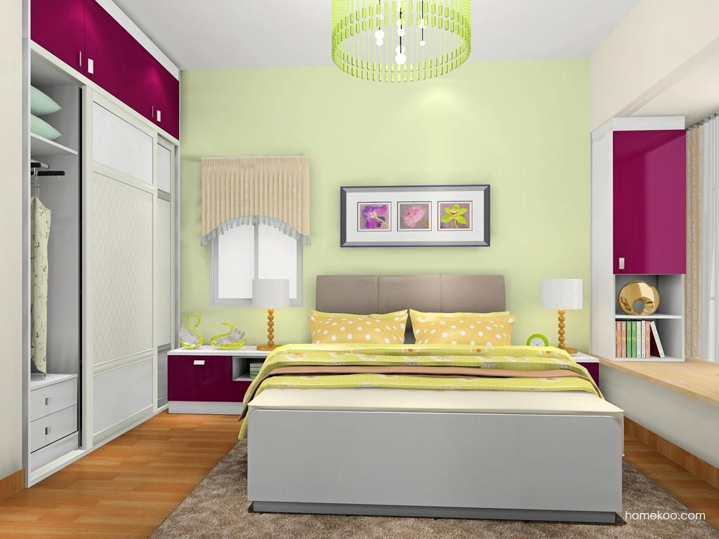 新实用主义卧房家具A18688