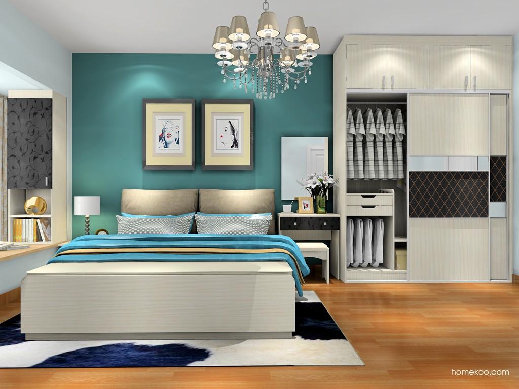 米兰剪影卧房家具A18699