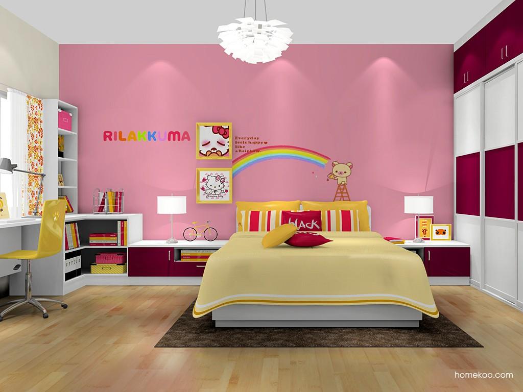 女孩的梦青少年房B18893
