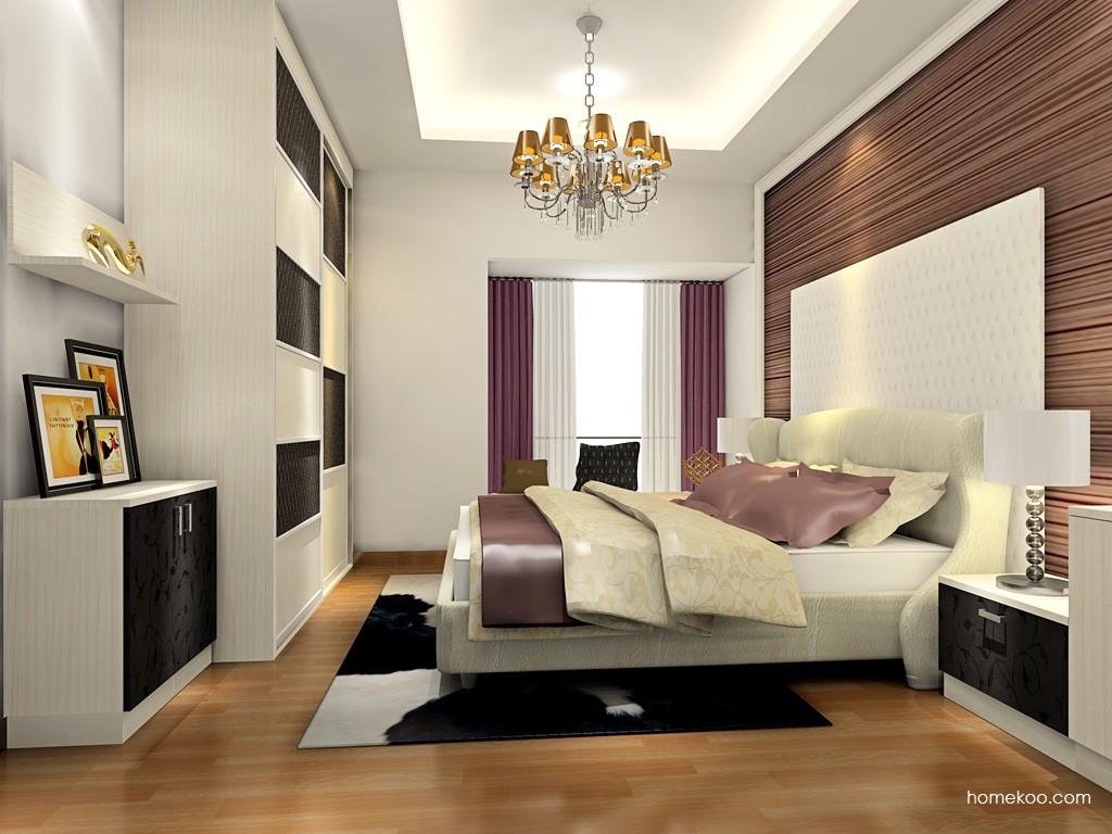 米兰剪影卧房家具A18701