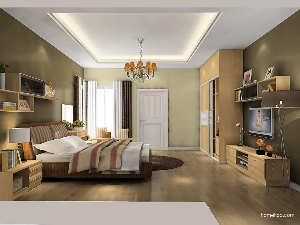 北美枫情卧房家具A18718