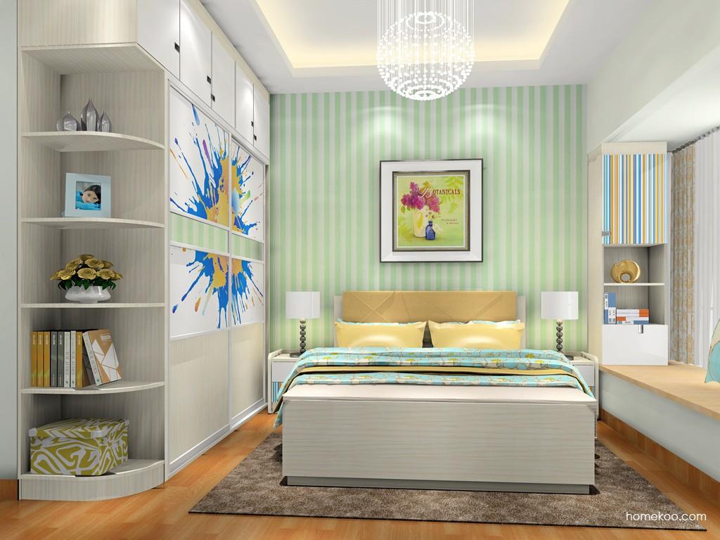 首尔之缤卧房家具A18739