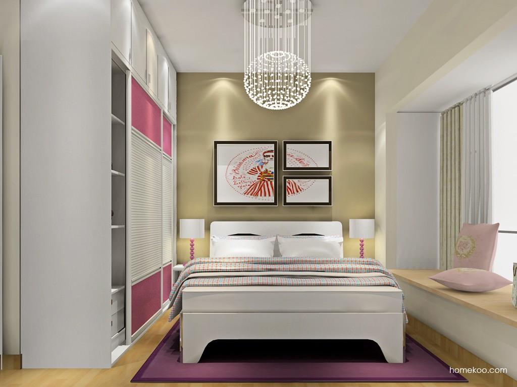 浪漫主义卧房家具A18740