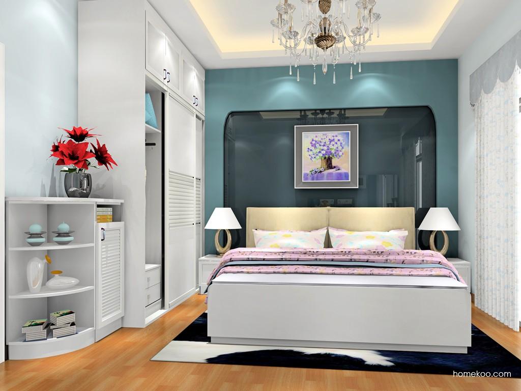 韩式田园卧房家具A18747