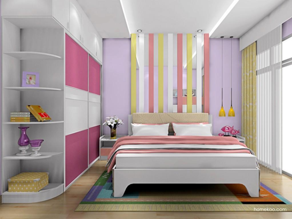 浪漫主义卧房家具A18754