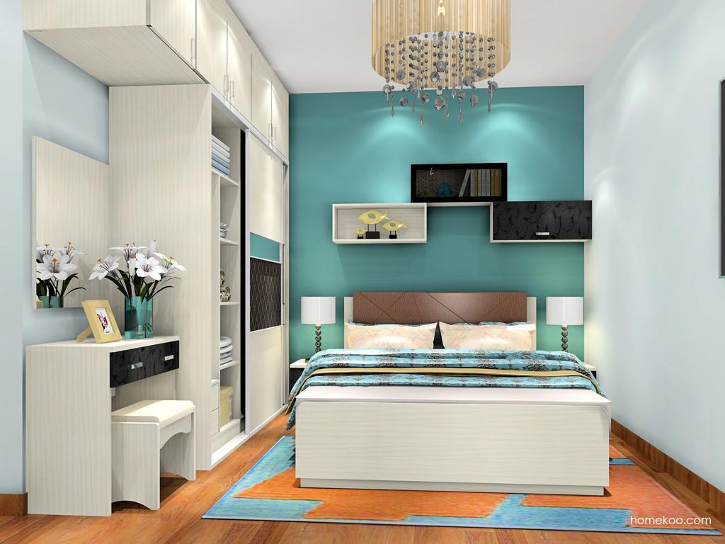 米兰剪影卧房家具A18762