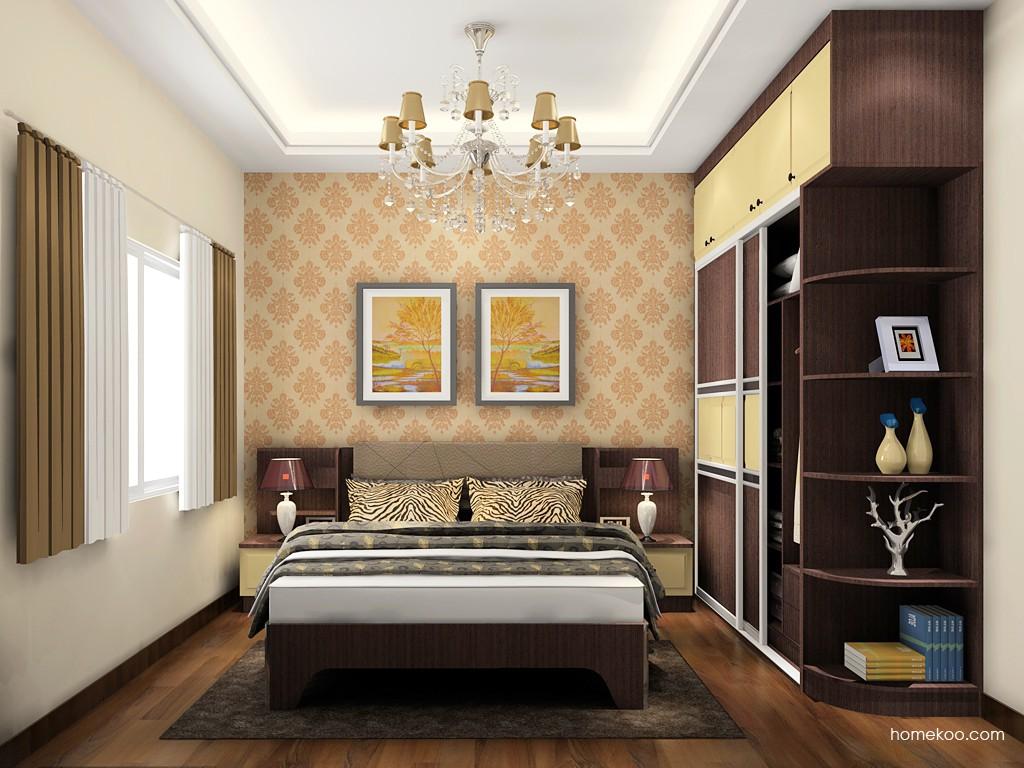 卡罗摩卡卧房家具A18779