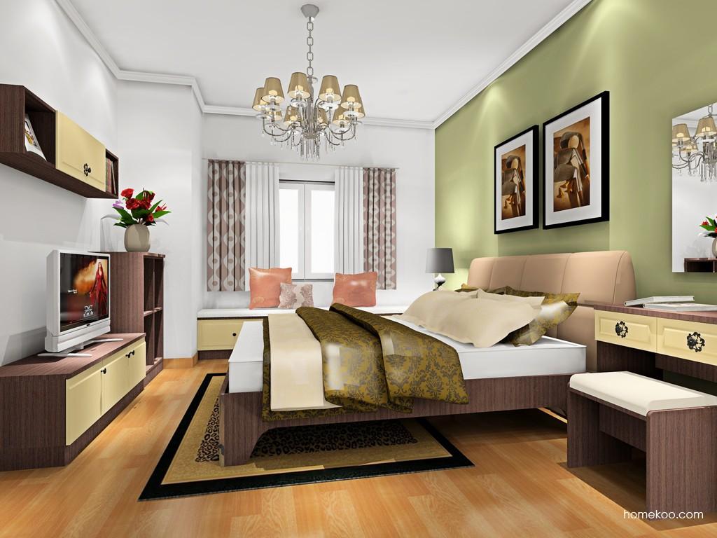 卡罗摩卡卧房家具A18780