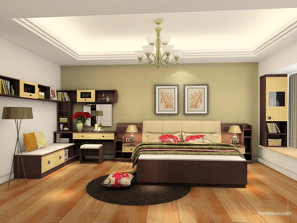 卡罗摩卡卧房家具A18781