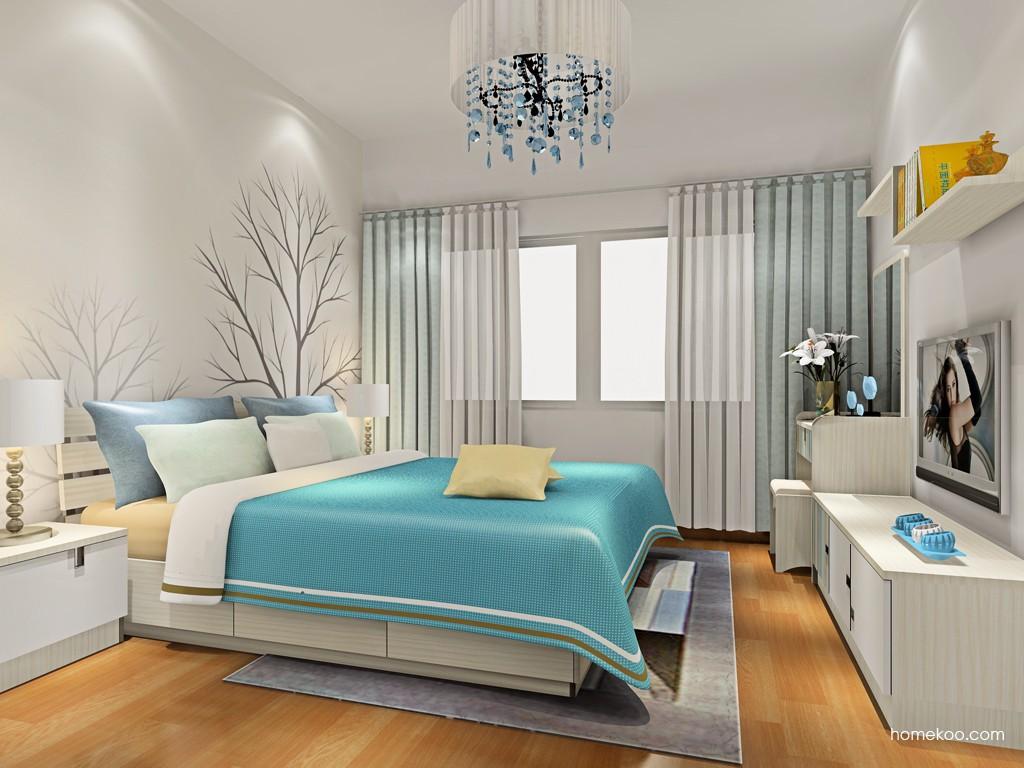 首尔之缤卧房家具A18787