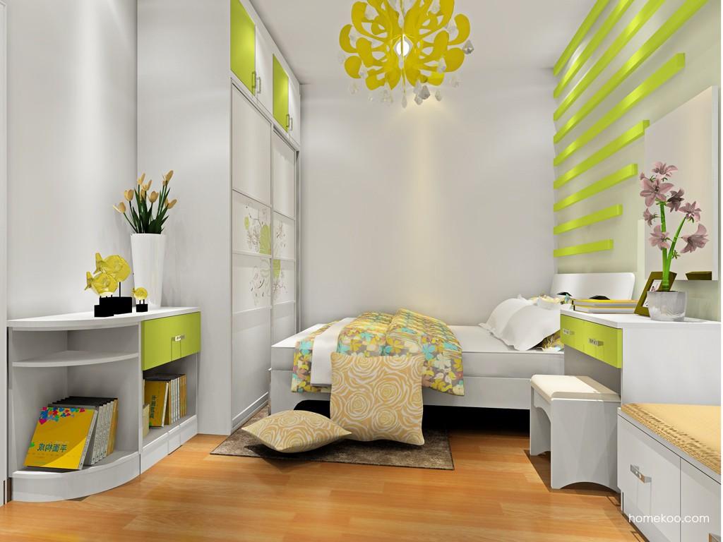 里昂春天卧房家具A18800