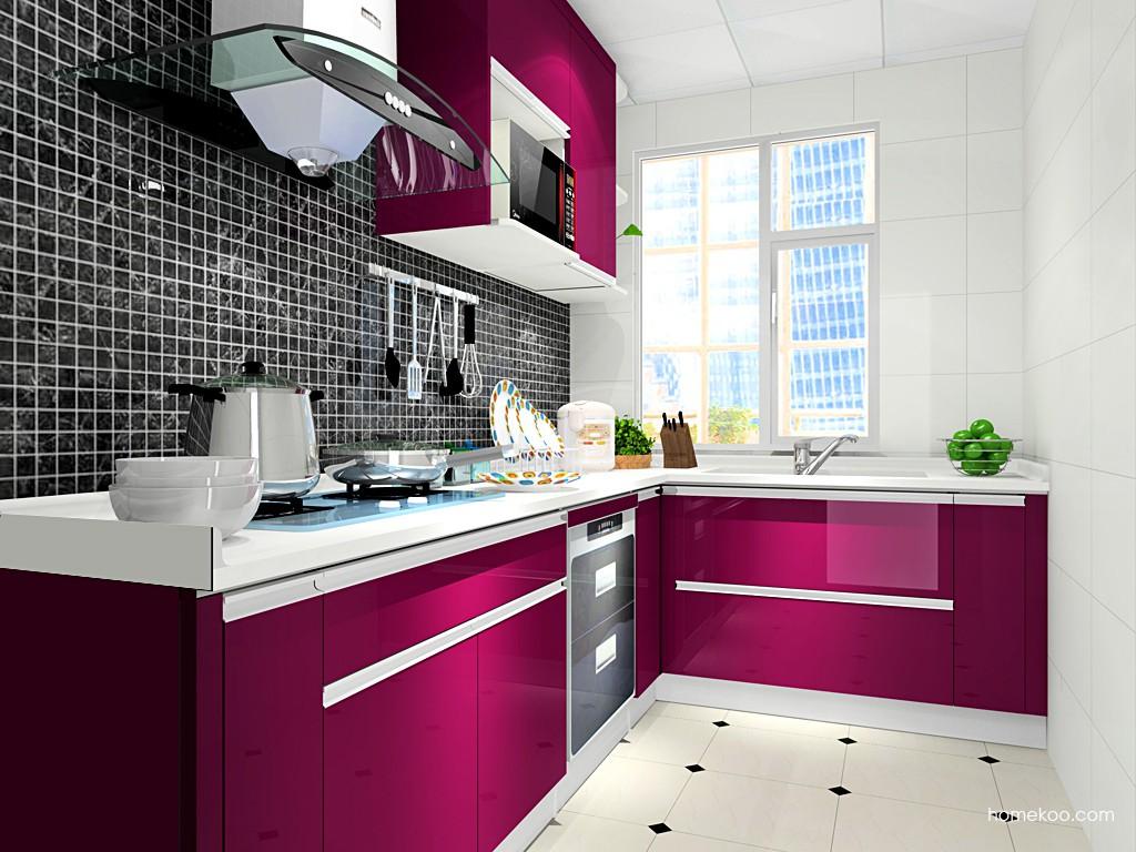 紫晶魅影橱柜F17528
