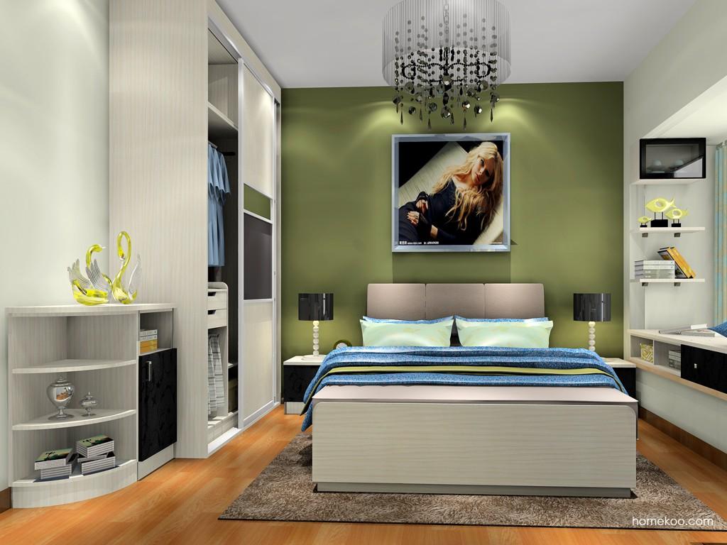 米兰剪影卧房家具A18808