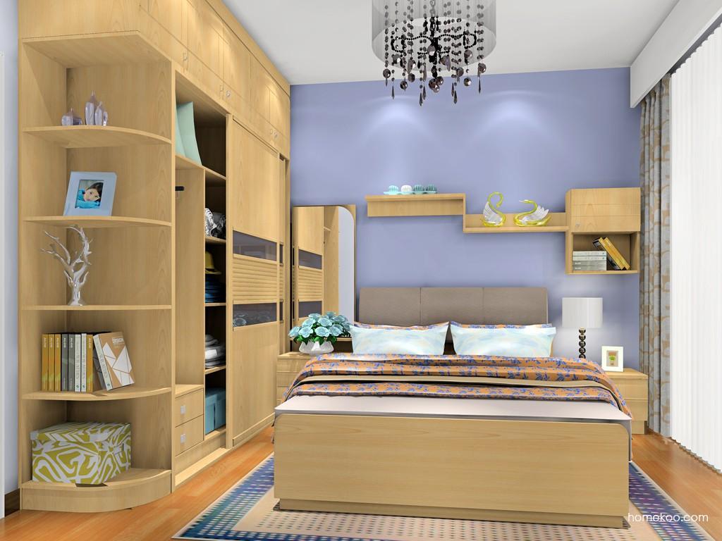 北美枫情卧房家具A18816