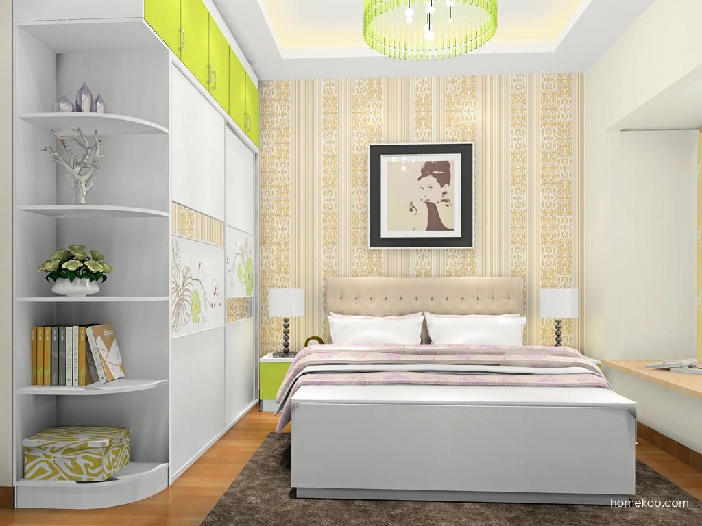 里昂春天卧房家具A18819