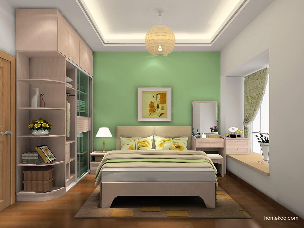 北欧阳光卧房家具A18820