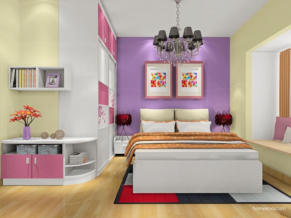 浪漫主义卧房家具A18821
