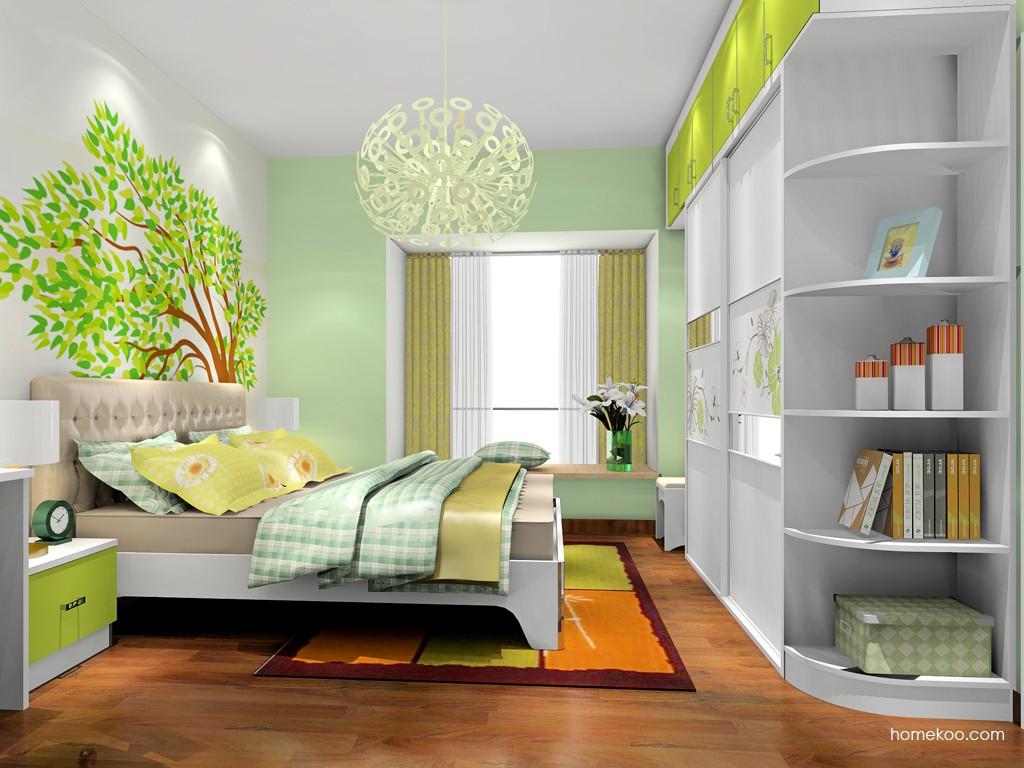 里昂春天卧房家具A18829