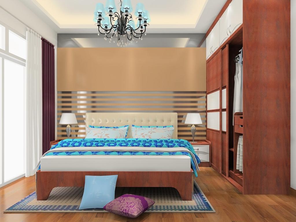 挪威月色卧房家具A18835