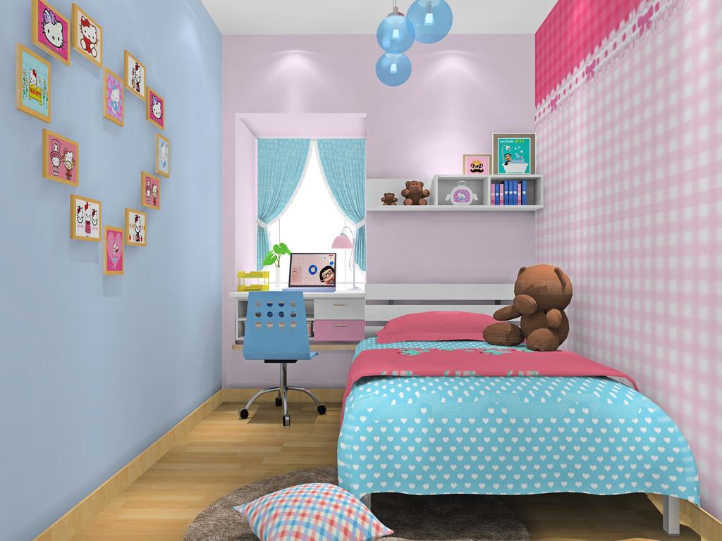 女孩的梦B18951