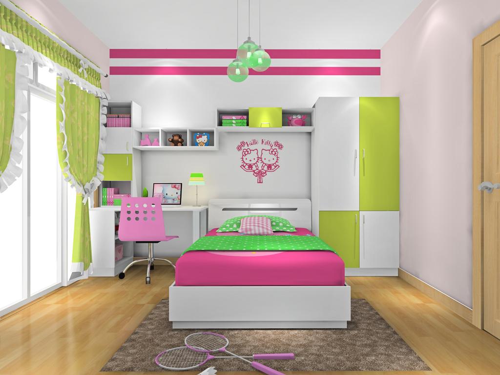 女孩的梦青少年房B18955