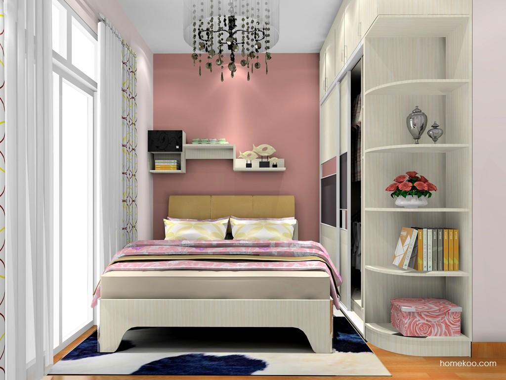 米兰剪影卧房家具A18841