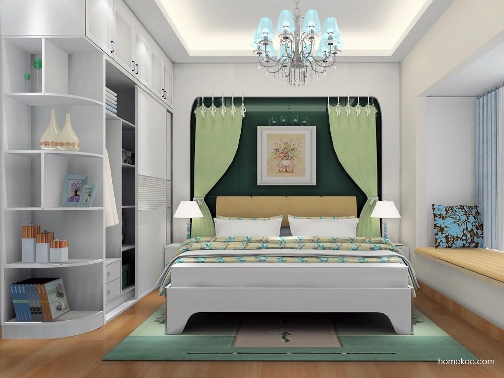 韩式田园卧房家具A18844